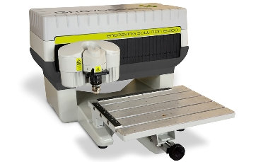 Máquina de grabado mecánico IS400 (Gravograph) Con un área de grabado A4, esta máquina electrónica está concebida para