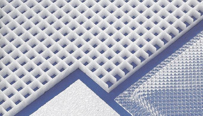 Plaque poly thyl ne extrud pe hd 300 par abaqueplast for Faux plafond plastique