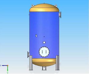 Tlakové nádoby - Stojaté vzdušníky