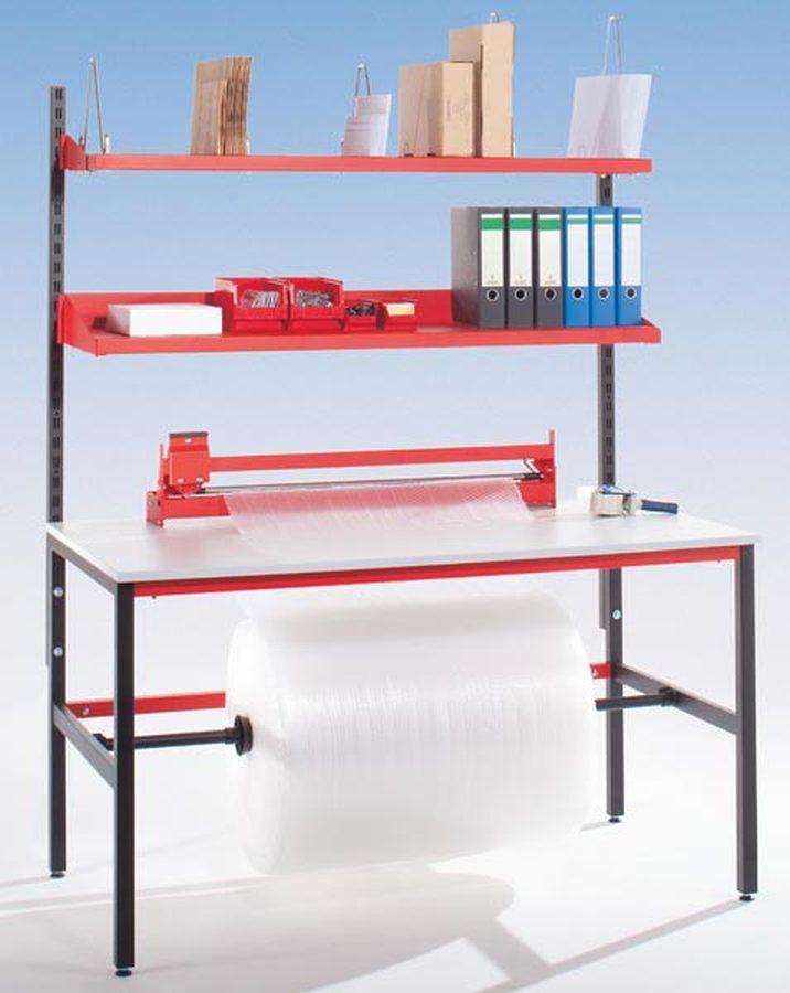 mit Ablagebord und Schneidgerät Optimales Preis-/Leistungsverhältnis Hochwertige Verarbeitung Einfache Montage durch Lie