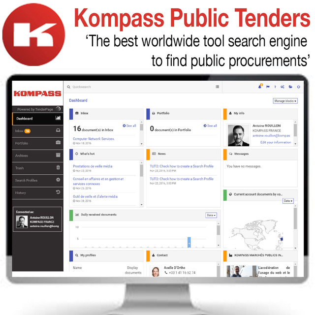 Kompass Public Tenders is Calling all Exporters!