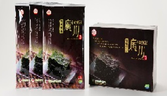 We will think that we have to produce safe food as our family members should eat ocean seaweed, roasted laver. 1. Since