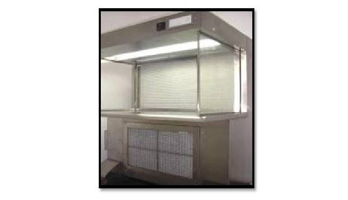 S.S.304 / 316 construction , with Minipleat Hepa filters & pre filters , UV Light with Hour Meter , Fluorescent lights,