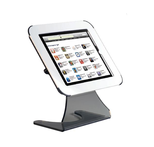 Compatible avec les ipad 2-3 et 4 ce porte-ipad augmentera l'impact de votre communication en diffusant des images, vidé