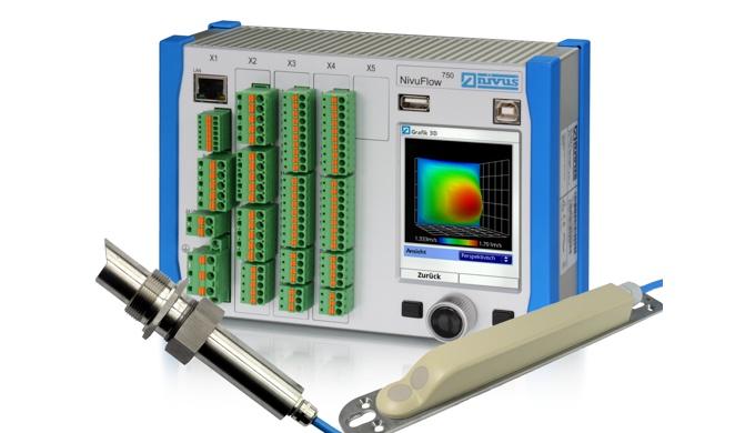 Le NivuFlow 750 est un convertisseur de mesure fixe pour la mesure de débit continue, la régulation de débit ainsi que p