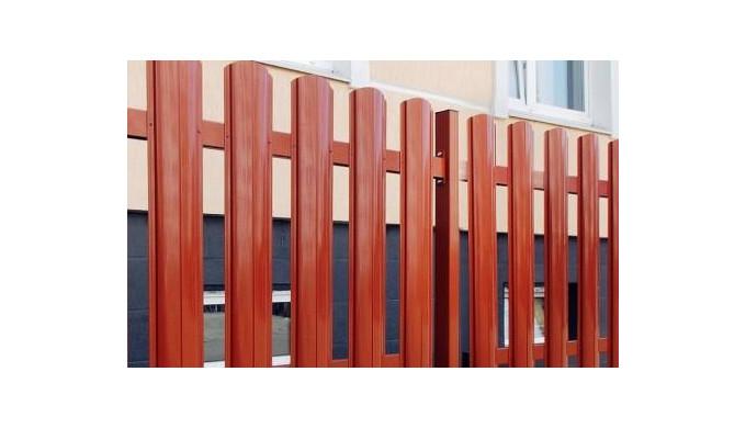 Gard din ştachet metalic