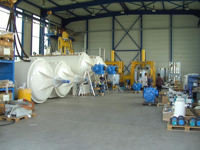 Behälterbau, Lagertanks