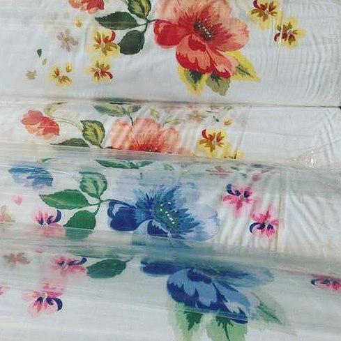100% Satin de coton imprimé/Acheter le Tissu pour linge de lit