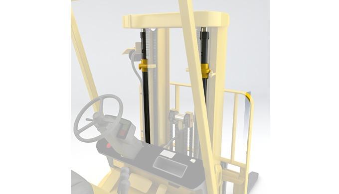 Forklift Mast Cylinders