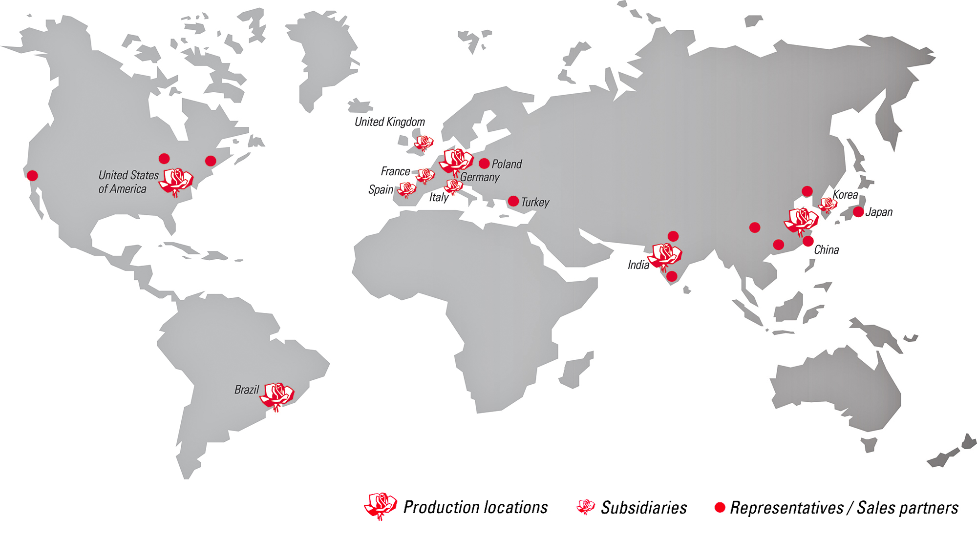 Rose Plastic Worldwide Locations By Rose Plastic Medical Packaging