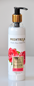 Body Lotion with Rose Oil
