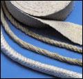 Isolering - Textilier, vävar, rep, muffar och andra tätningar, packningar eller skydd