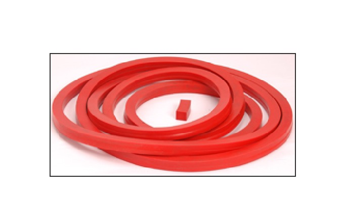 We are leading manufacturer of Silicone Rubber Autoclave gasket which used as door gasket for ovens.  Our gasket are man