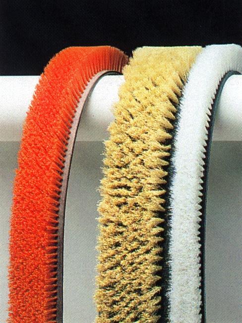 Mink Flachriemen-Bürsten werden Ihnen wahlweise endlich oder endlos in einer praxisbewährten Materialkombination geliefe