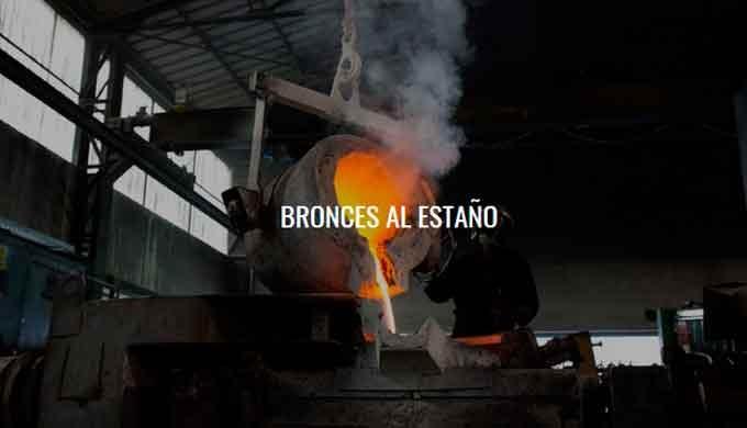Fabricación y distribución de producto de fundición de Bronce (Aleaciones Base Cobre). WISCO ESPAÑOLA, ha ido incorporan
