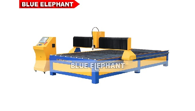 Features: 1. Compared with 1530 Plasma Metal Cutting Machine, this machine was designed with larger working size. In tha