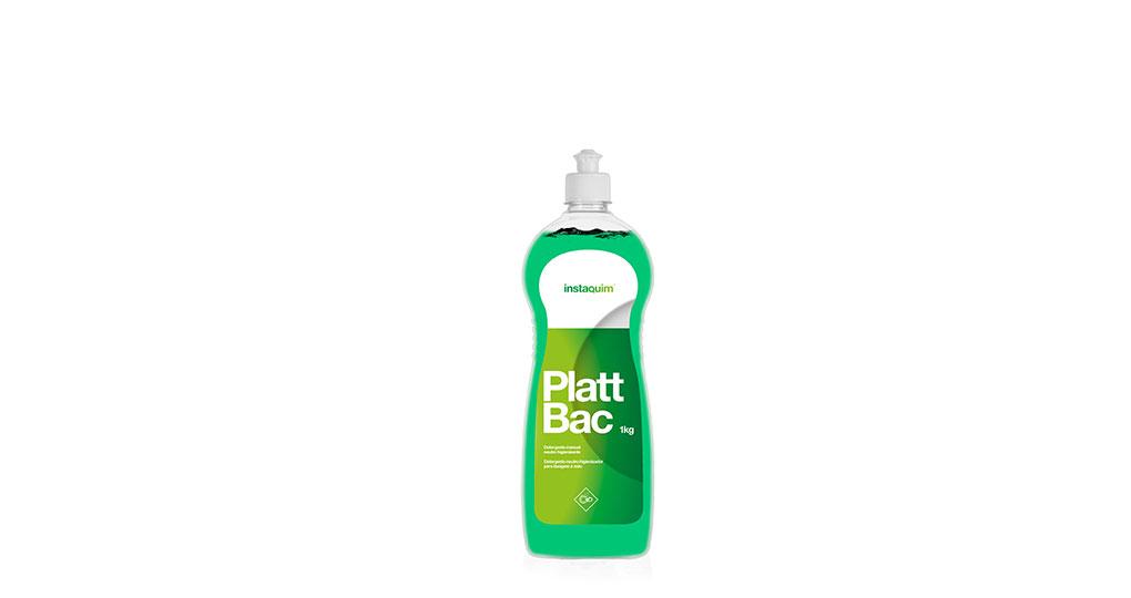 Platt Bac, detergente manual neutro higienizante.