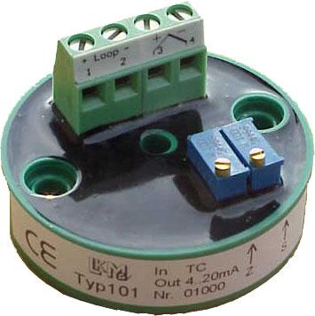 Messumformer für Widerstandsthermometer