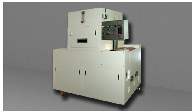 This equipment is a model used for applications such as coating FPC which is sensitive to temperature and film kinds and