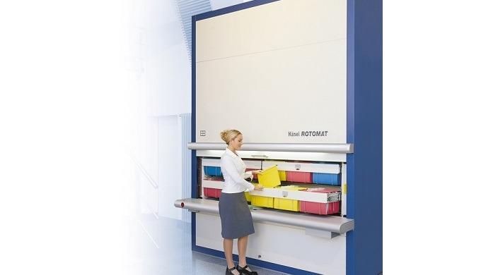 Hänel Rotomat®: Automatizovaný archivační systém pro administrativu