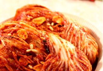Cabbage head kimchi