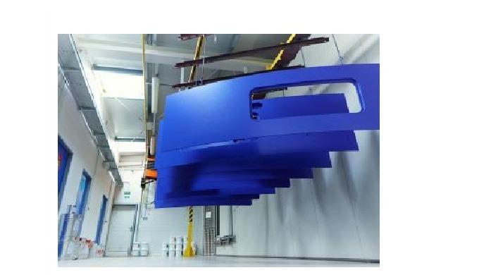 Colorprofi s.r.o. Boskovice – robotické lakování plastů pro automobilový průmysl Voblasti robotického lakování plastů s
