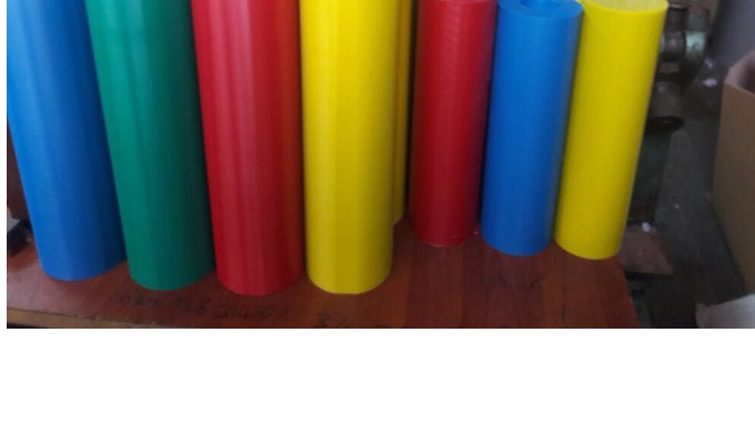 Cast PA6 G/C (Cast Polyamide) Solid or Hollow Rods Dia: Ø20-Ø200mm. Length: 1000mm.