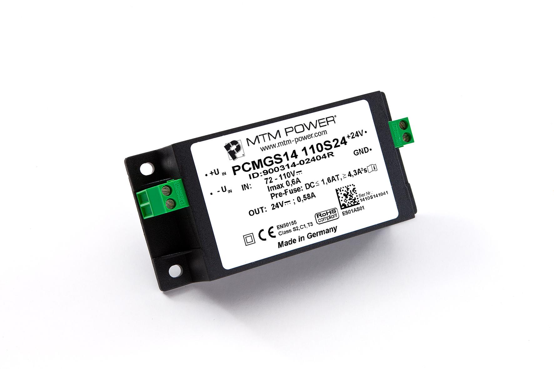 MTM Power GmbH, der Spezialist für individuelle Stromversorgungen, bietet in seiner umfangreichen Produktpalette DC/DC-W