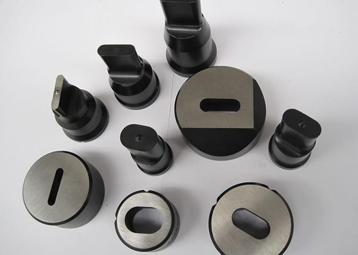 punzones Ovalados: se utilizan para realizar cualquier trabajo deseado en ángulos, pletinas y perfiles con una duración