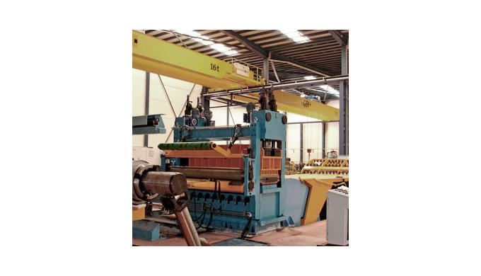 Desarrollamos proyectos de líneas de corte de alta tecnología para procesado de bobinas. LINEAS DE CORTE TRANSVERSAL Ace