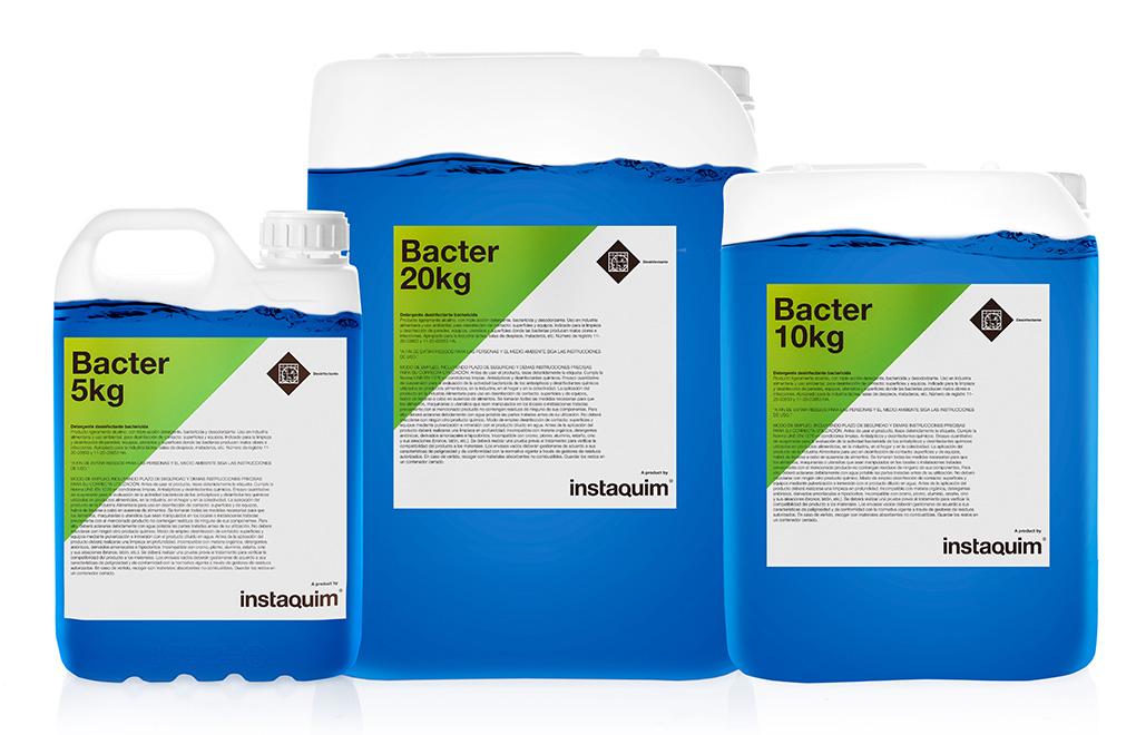 Bacter, detergente desinfectante.