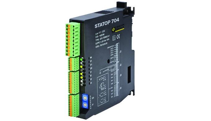 Conçu pour les processus industriels, le STATOP 704 regroupe de multiples applications : la régulation de température et