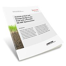 Applikationsbericht: Vor-Ort-Analyse von Böden und Klärschlämmen mit einem portablen ED-RFA-Spektrometer