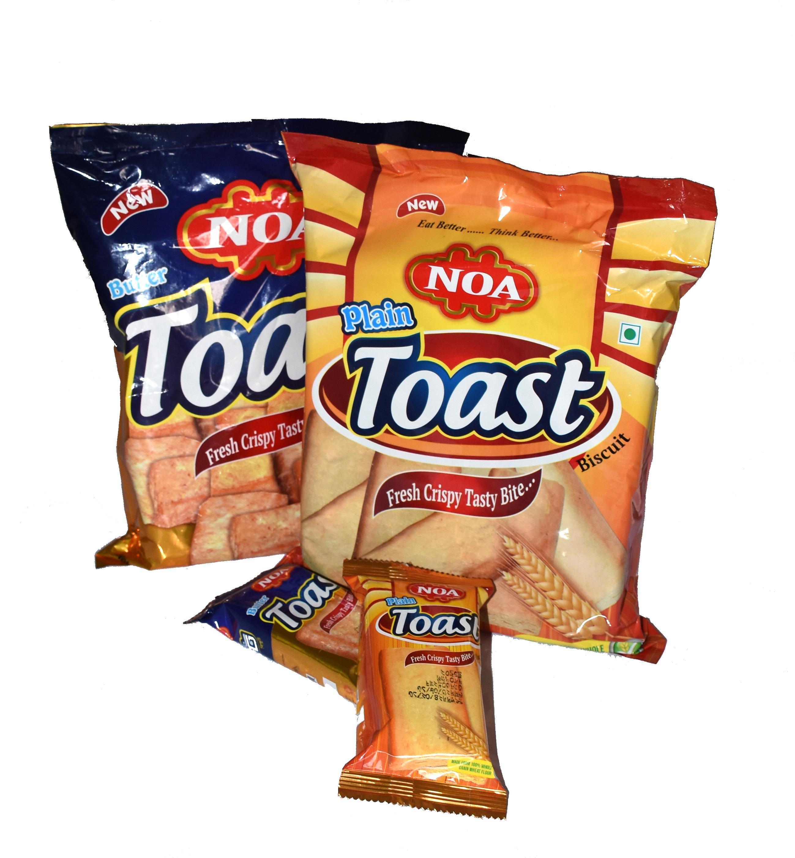 Noa Plain Toast & Butter Toast
