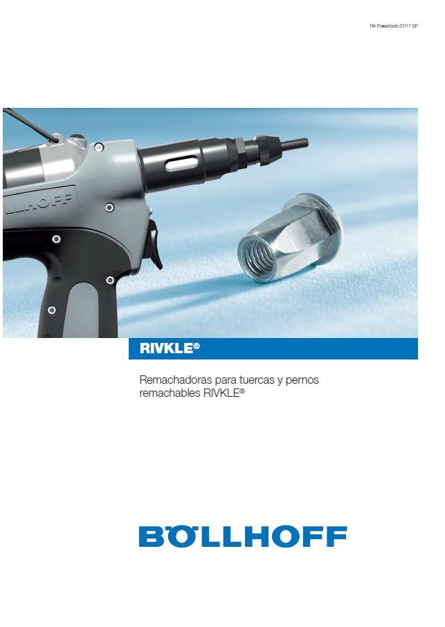 Remachadoras RIVKLE®: nuevo catálogo con toda la oferta de remachadoras BOLLHOFF