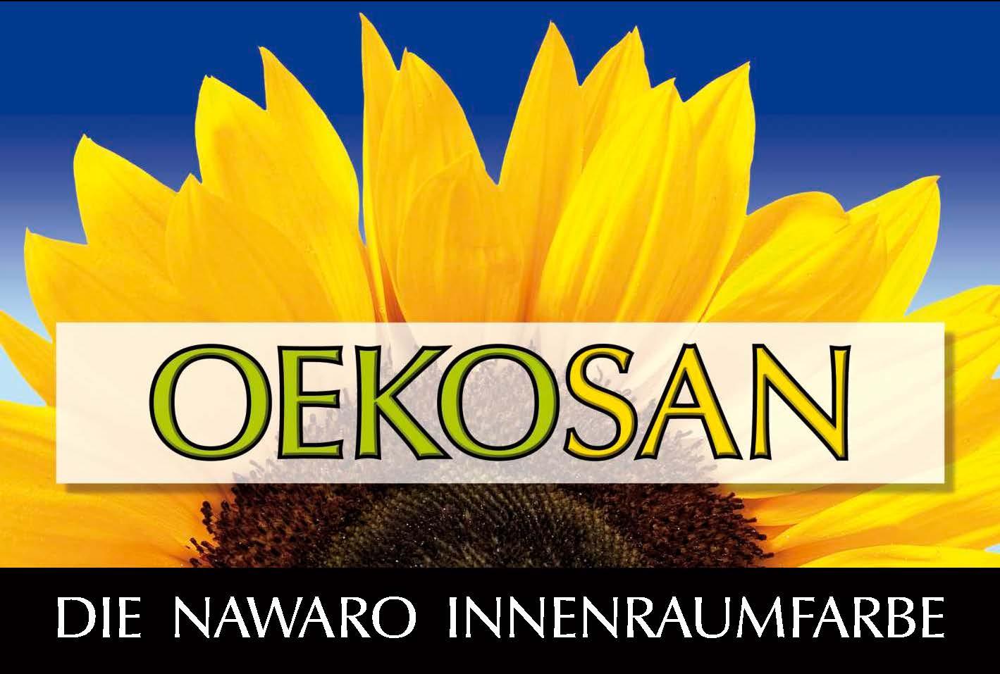 OekoSan  -  Die NAWARO Innenraumfarbe
