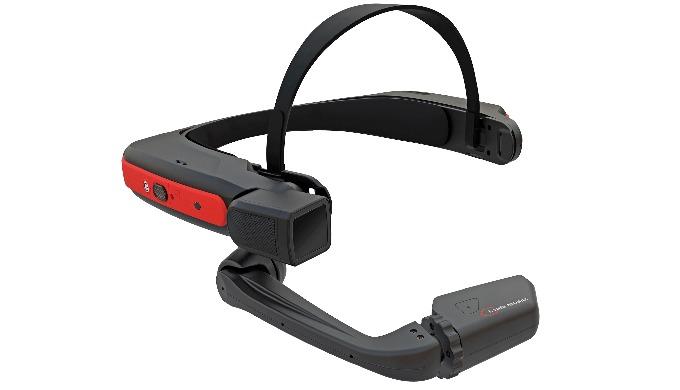 La HMT-1Z1 (Head Mounted Tablet) es una tablet de Realidad Aumentada manos libres ATEX para zona 1/21. Tiene un interfaz
