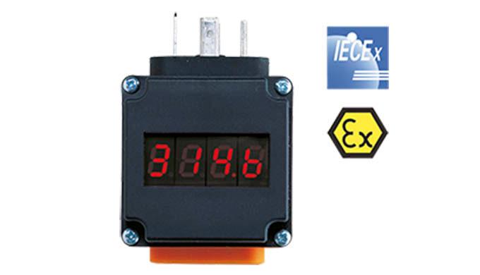 Versorgung aus der 4 - 20 mA Schleife Anzeige: 4-stellige, rote LED Anzeigebereich: -1999 ... +1999 Genauigkeitsklasse: