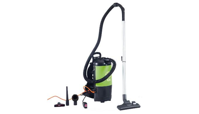 Cet aspirateur compact a été spécialement étudié pour allier le confort (seulement 5 kg) et la performance. Son long câb