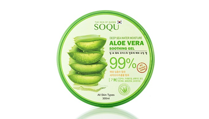 1. Clean Jeju Natural Aloe Vera gently soothes the skin damaged. 2. The rich moisture supply of deep ocean water protect