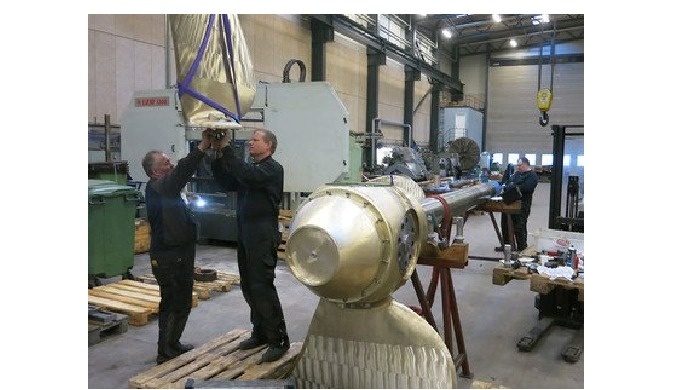 Reconditioning of propeller equipment MarineShaft carry out complete reconditioning of propeller equipment of all makes.