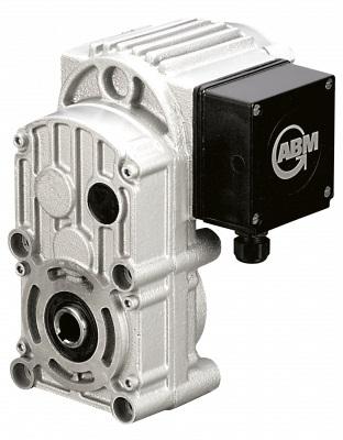 ABM Greiffenberger Flachgetriebemotoren (erhältlich in 2- oder 3-stufiger Ausführung) bieten durch ihren hohen Achsabsta