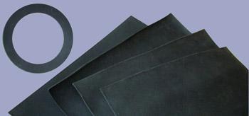 Pryžové desky pro výrobu těsnění  a průmyslové využití