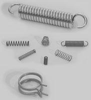 - Druck- und Zugfedern - Schenkelfedern - Doppelschenkelfedern - Flachfedern - Roll- und Wickelfedern - Spir