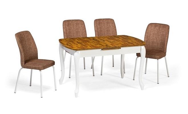 EN 943 Lukens Wooden Dining Set