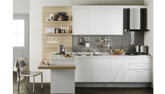CMMA Kitchen Countertop CMMA Countertop is all molded and ready-made goods (Integral Type). In other words, it is attach