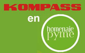 Kompass participa en Homenaje Pyme