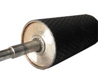 Tambor recubierto de cauchoRecubrimiento de tambores en caucho y poliuretano