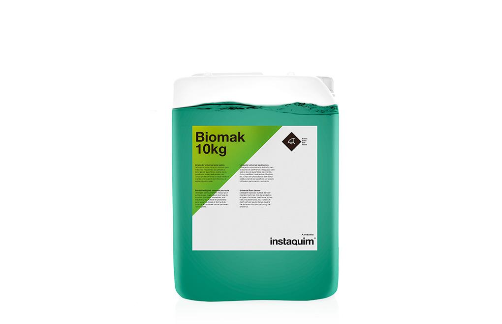 Biomak, limpiador universal para suelos.