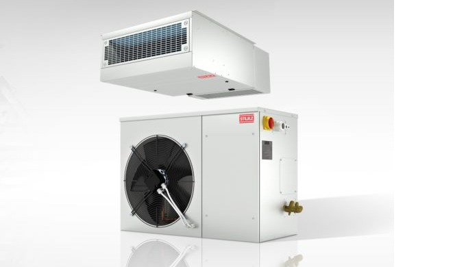 Precision air conditioning unit for flexible installation. For use in telecommunications.